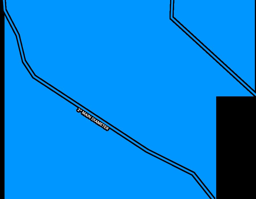 Coleman Site Water lines