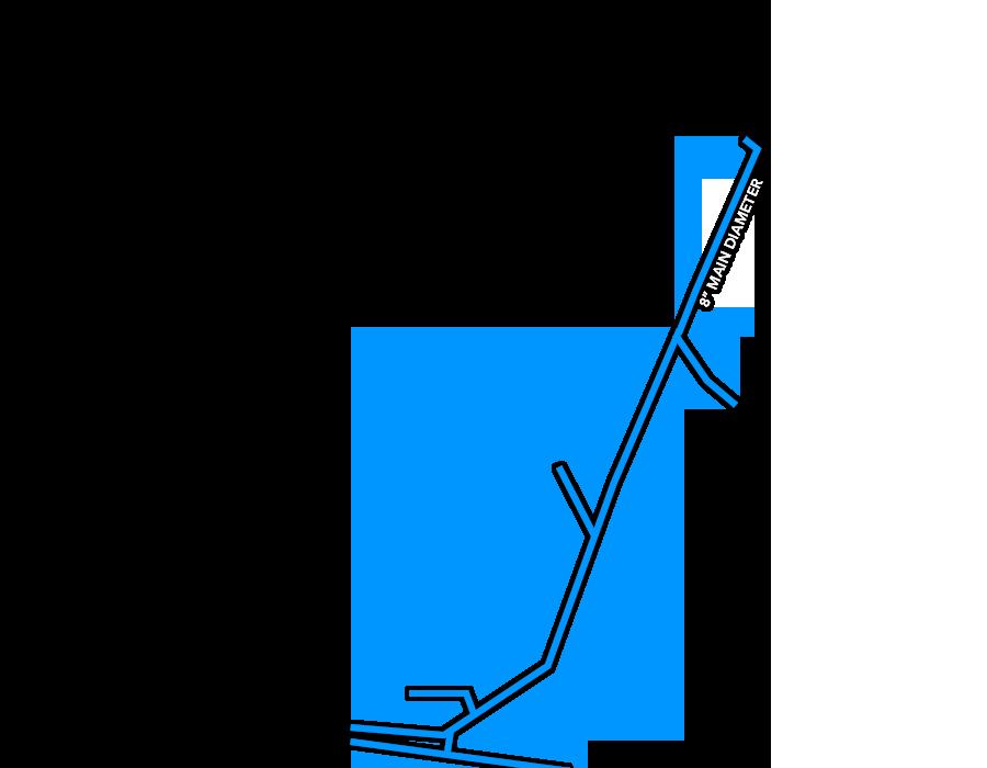 Sellers Site Water lines
