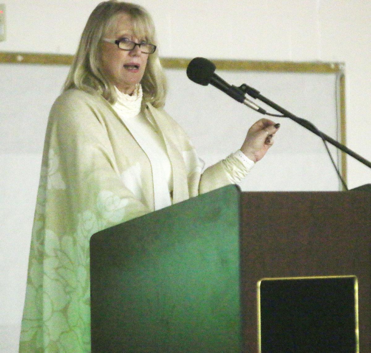 Dr. Norman at podium