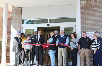 Renovated Emergency Room Ribbon Cutting